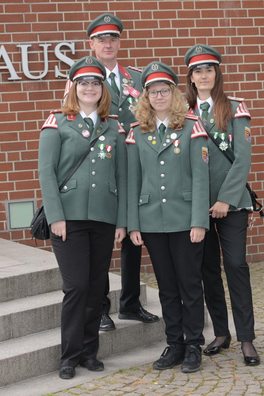 v.l. Dana Idasiak, Jörg Rießelmann, Maria Voß, Alexandra Niemann